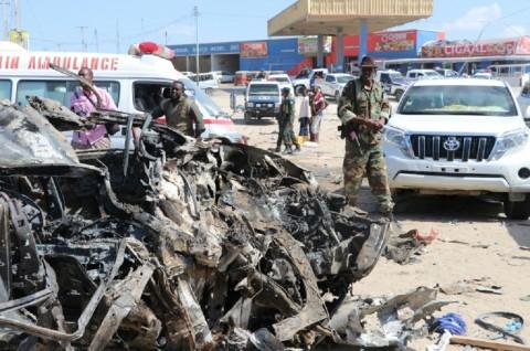 Melonjak Drastis, Korban Bom Somalia Hampir 80 Orang