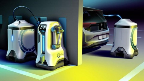 Volkswagen Bikin Power Bank Otomatis untuk Mobil Listrik