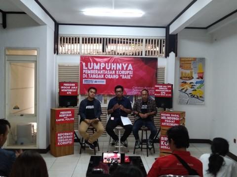 Jokowi Dianggap Tak Memprioritaskan Program Antikorupsi
