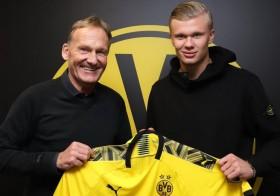 Borussia Dortmund Resmi Gaet Erling Braut Haaland