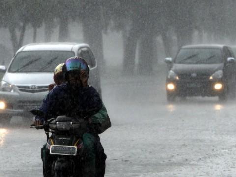 Jakarta Bakal Diguyur Hujan dengan Angin Kencang