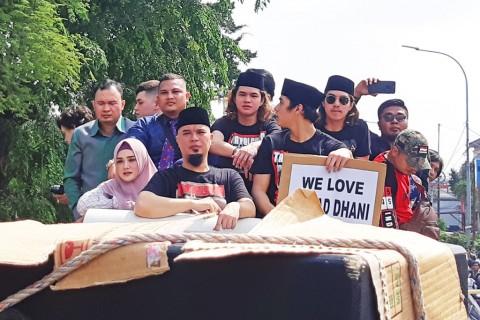 Bebas, Ahmad Dhani langsung Pulang ke Pondok Indah