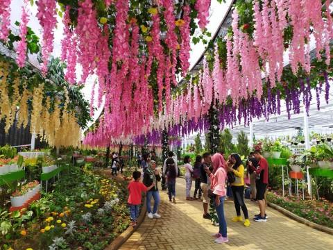 Kawasan Wisata Baru di Malang Diserbu Ribuan Pengunjung