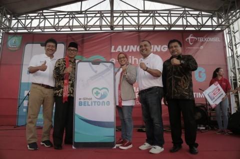 Telkomsel Gandeng Belitung Timur via Aplikasi E-Sihat