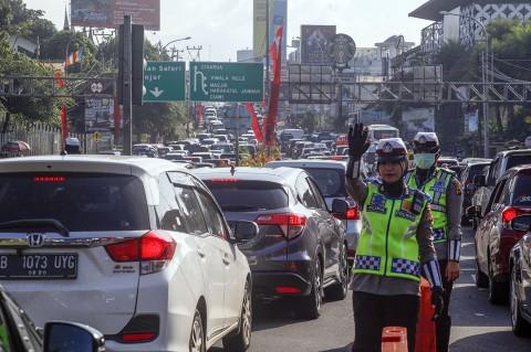 Malam Tahun Baru, Jalur Puncak Bogor Ditutup