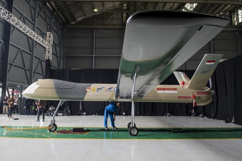 PTDI Kenalkan Pesawat Nirawak untuk Cegah Ancaman Teritorial