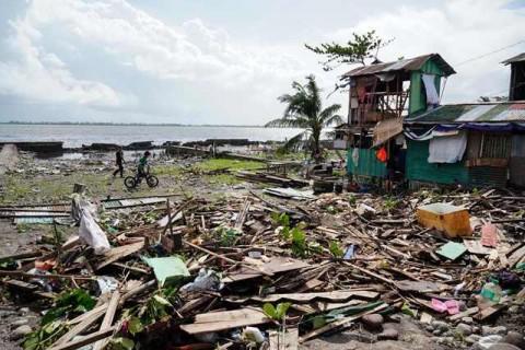 Badai Phanfone Menyebabkan 47 Orang Tewas di Filipina
