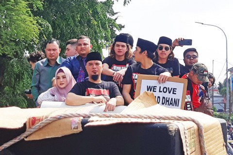 Baru Bebas, Ahmad Dhani: Saya Tetap di Dunia Politik!