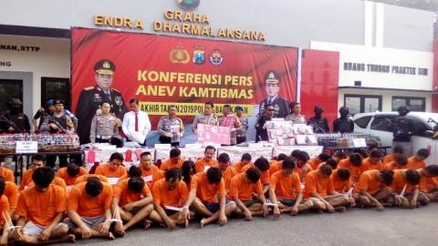 2.275 Gram Sabu Disita Polres Bangkalan Sepanjang 2019