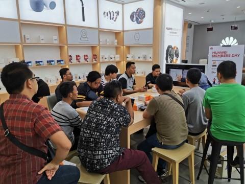 Huawei Luncurkan Aplikasi Member Center