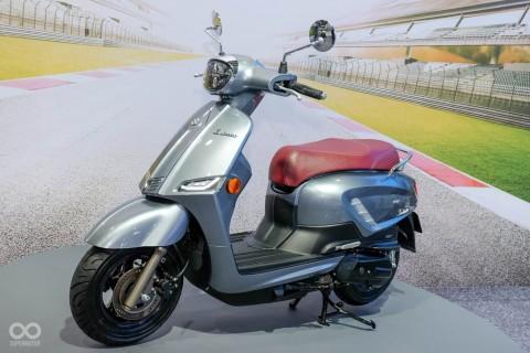 Suzuki Saluto 125 Tantang Skutik Eropa