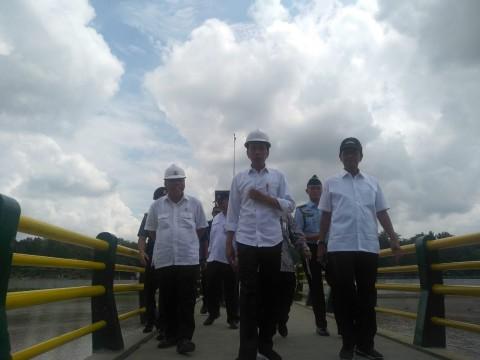 Jokowi dan Keluarga Tahun Baruan di 'Kota Gudeg'