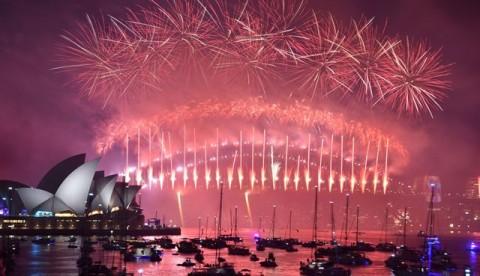 Kebakaran Hutan di Sydney, Pesta Kembang Api Tetap Berjalan