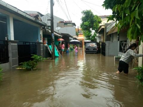 Perumahan di Tangerang Selatan Terendam Air