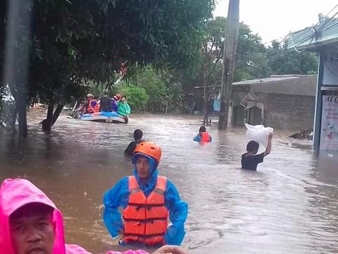 Depok Dikepung Banjir, Satu Orang Warga Tewas