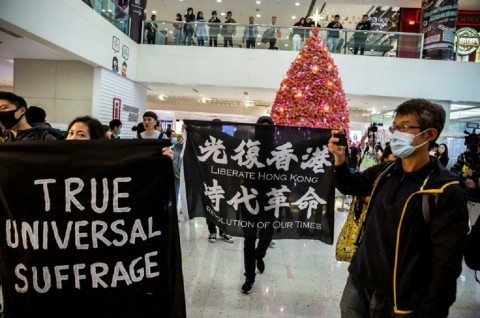 Pedemo Hong Kong Rencanakan Aksi di Awal 2020