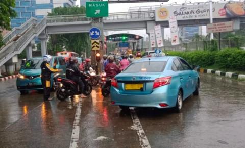 Sejumlah Gerbang Tol Ditutup Jasa Marga Akibat Banjir