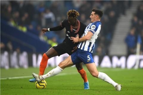 Brighton Gagalkan Kemenangan Chelsea dengan Tendangan Salto