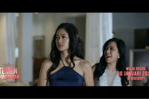 Prisia Nasution Bingung soal Jodoh di Trailer Film Temen Kondangan