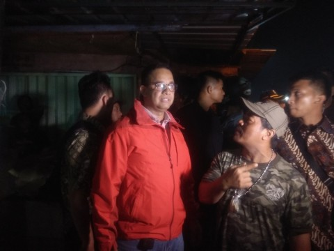 Anies Sangkal Pernyataan Jokowi Soal Banjir