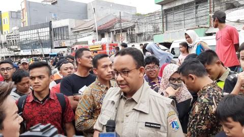 Anies Minta Pemerintah Selesaikan Pembangunan Waduk di Bogor