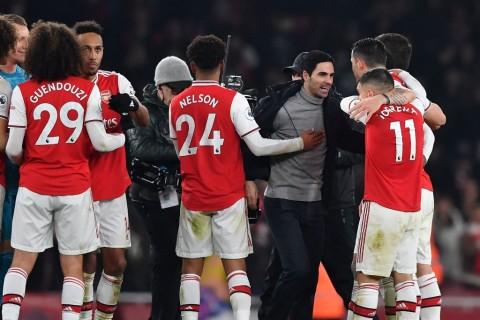 Arsenal Gasak MU, Arteta Sebut Kondisi Fisik Pemain Belum Sempurna