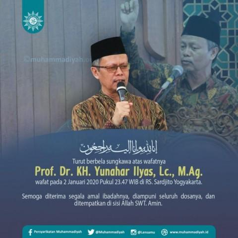 Ketua PP Muhammadiyah Yunahar Ilyas Tutup Usia