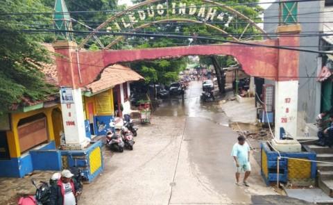 Banjir di Ciledug Indah 1 Tangerang Sudah Surut