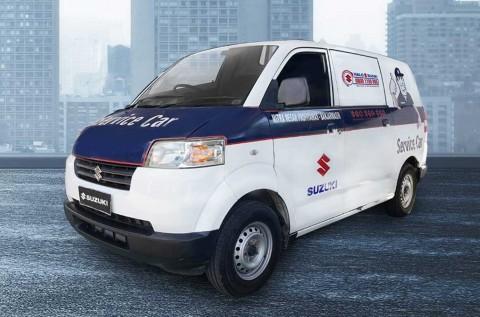 Suzuki Gratiskan Towing untuk Mobil yang Kebanjiran