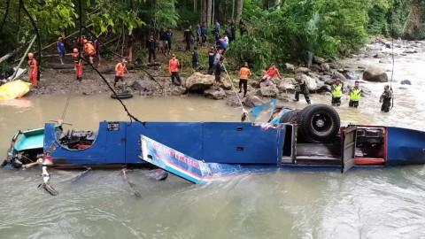 Polisi Pastikan Ada Tersangka di Kasus Kecelakaan Bus Sriwijaya