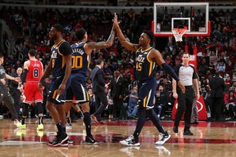 Tekuk Chicago Bulls, Jazz Menang Empat Kali Berturut-turut