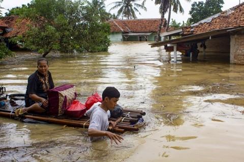 Banjir Jakarta Surut