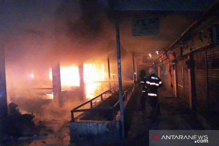 Pasar Raya Padang Terbakar