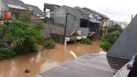 220 RT di Jakarta Barat Masih Terendam Banjir