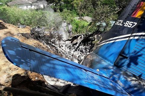 Pesawat Militer Sri Lanka Jatuh, Empat Tewas