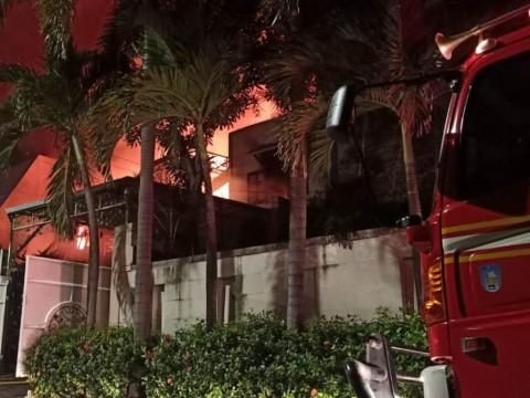 Kebakaran di Jaksel Menewaskan Dua Orang