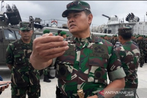 TNI Imbau Nelayan Natuna tidak Cemas