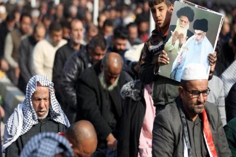 Ribuan Warga Irak Iringi Pemakaman Jenderal Qassem Soleimani