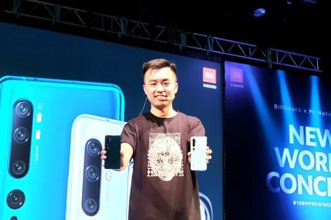 Xiaomi Mi Note 10 Pro Resmi ke Indonesia, Harga Rp6,9 Juta