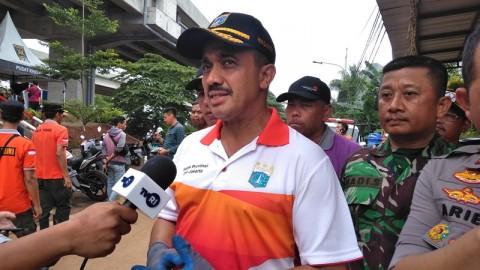Wilayah Cipinang Melayu Disemprot Disinfektan