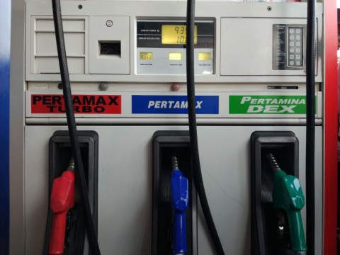 Harga Pertamax Turun Rp650/Liter