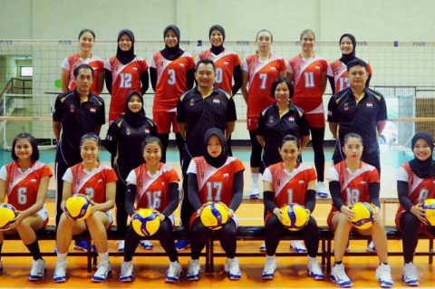 Timnas Bola Voli Putri Bersiap Arungi Kualifikasi Olimpiade 2020