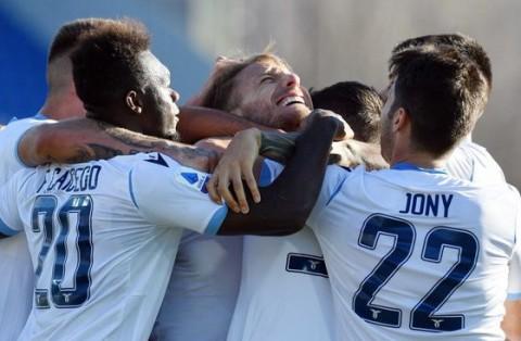 Sepasang Gol Immobile Bantu Lazio Tundukkan Brescia