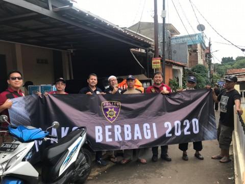 Jiwa Humanis POG untuk Warga Pondok Pinang yang Terkena Banjir