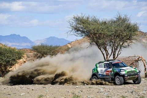 Kejutan Kecil Zala di Etape-1 Kategori Mobil Dakar Rally 2020