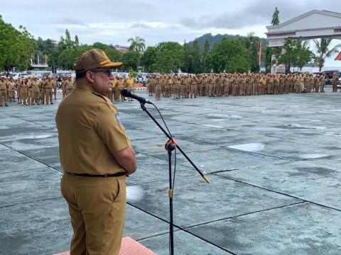 4.000 ASN Pemprov Papua Bolos Apel