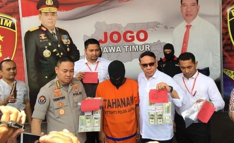 Dolar Palsu Senilai Rp1,4 Miliar Gagal Beredar di Surabaya