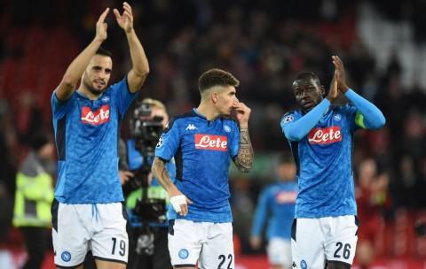 Jamu Inter, Napoli Kehilangan Banyak Pemain Andalan