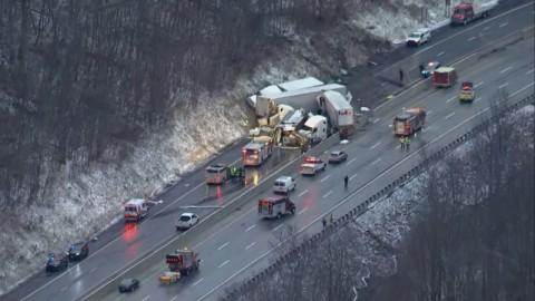 Lima Tewas dalam Kecelakaan Horor di Pennsylvania