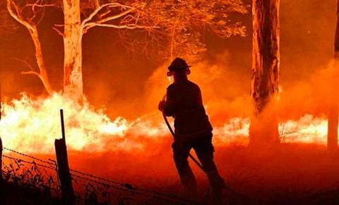 Hujan Bantu Atasi Upaya Pemadaman Api di Australia